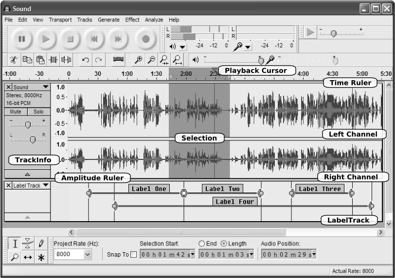 The Architecture of Open Source Applications: Audacity