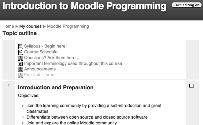 The Architecture of Open Source Applications (Volume 2): Moodle